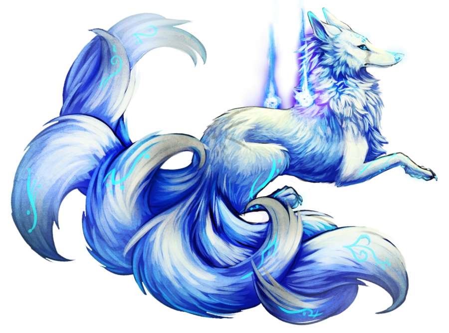The tails are so