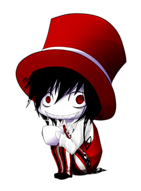 Drawing creepy mad hatter. Hatty by naimane on