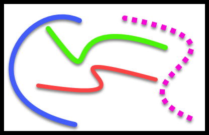 Drawing curve tool. Draw curved lines techsmith