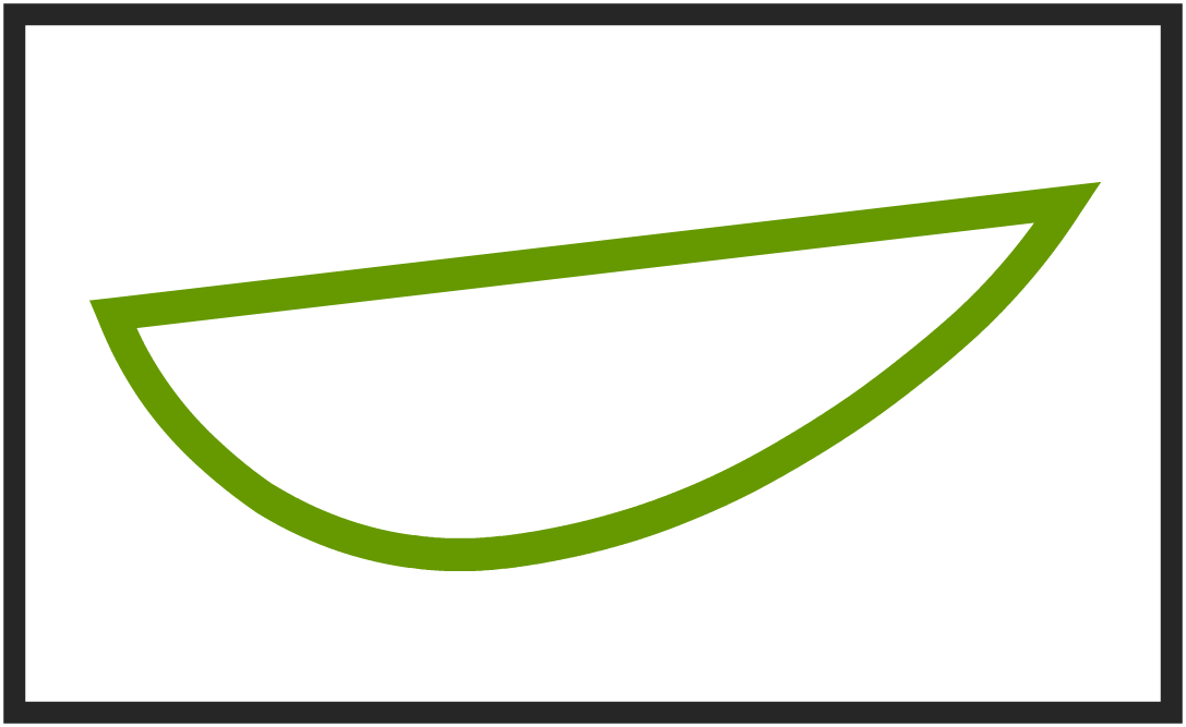 Drawing curve tool. Bezi r curves on