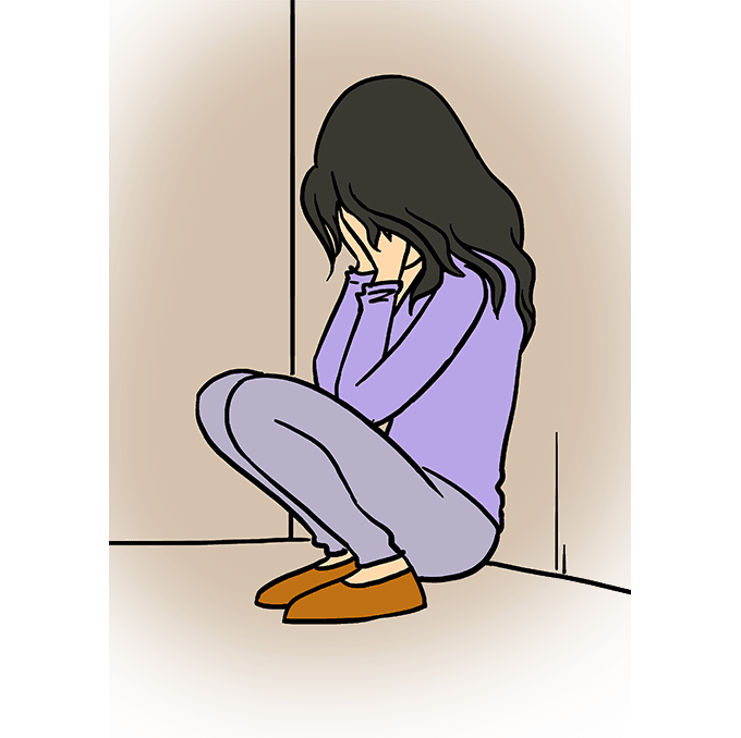 Drawing cut depressing. How to draw a