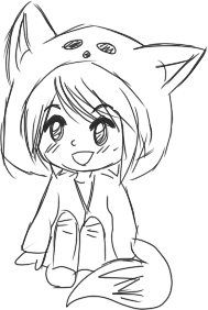 Self drawing cute. How to draw a
