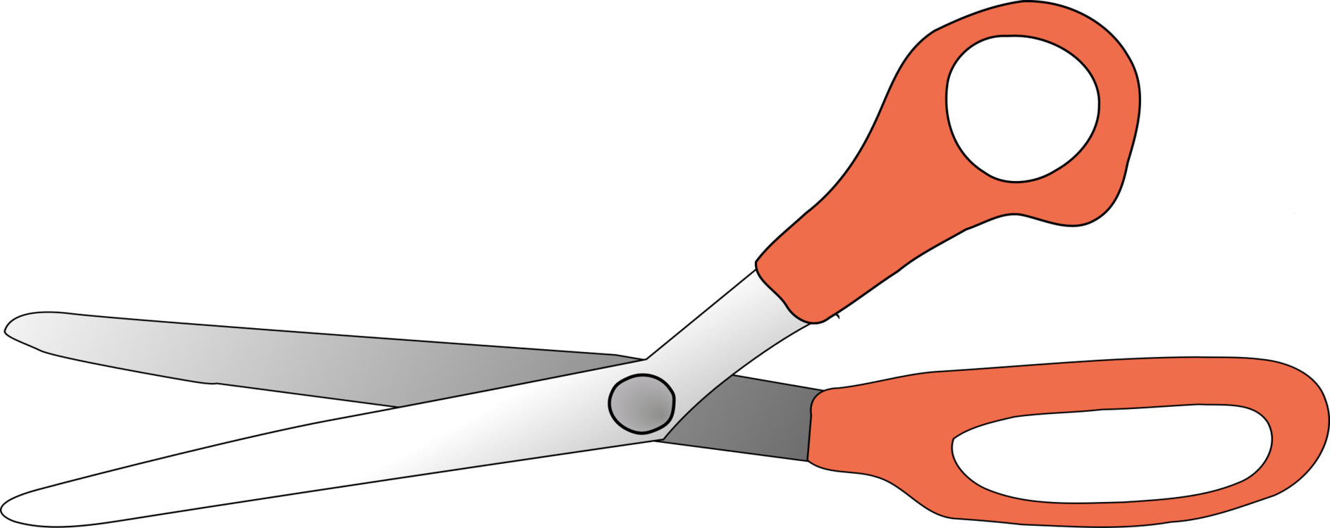 Drawing cutting clipart. Hair shears scissors download