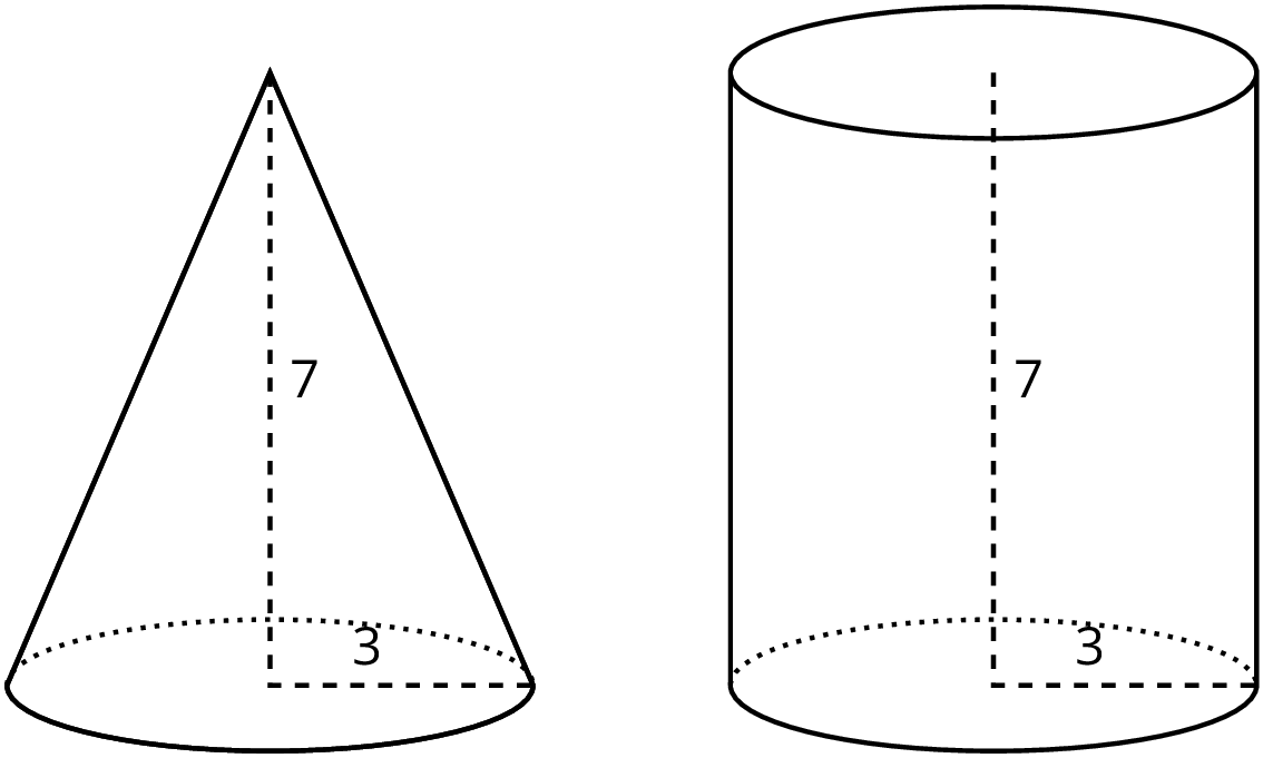 Drawing cylinder cone. Grade unit open up