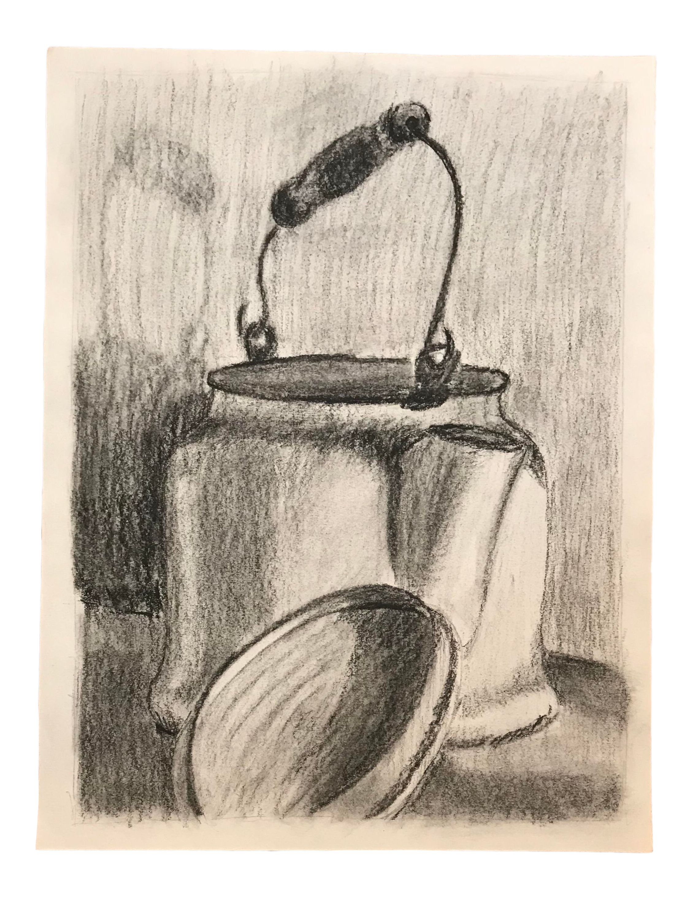 Drawing cylinder still life. S of a
