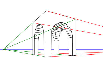 Metalpoint drawing modern. Wikiwand twopoint perspective