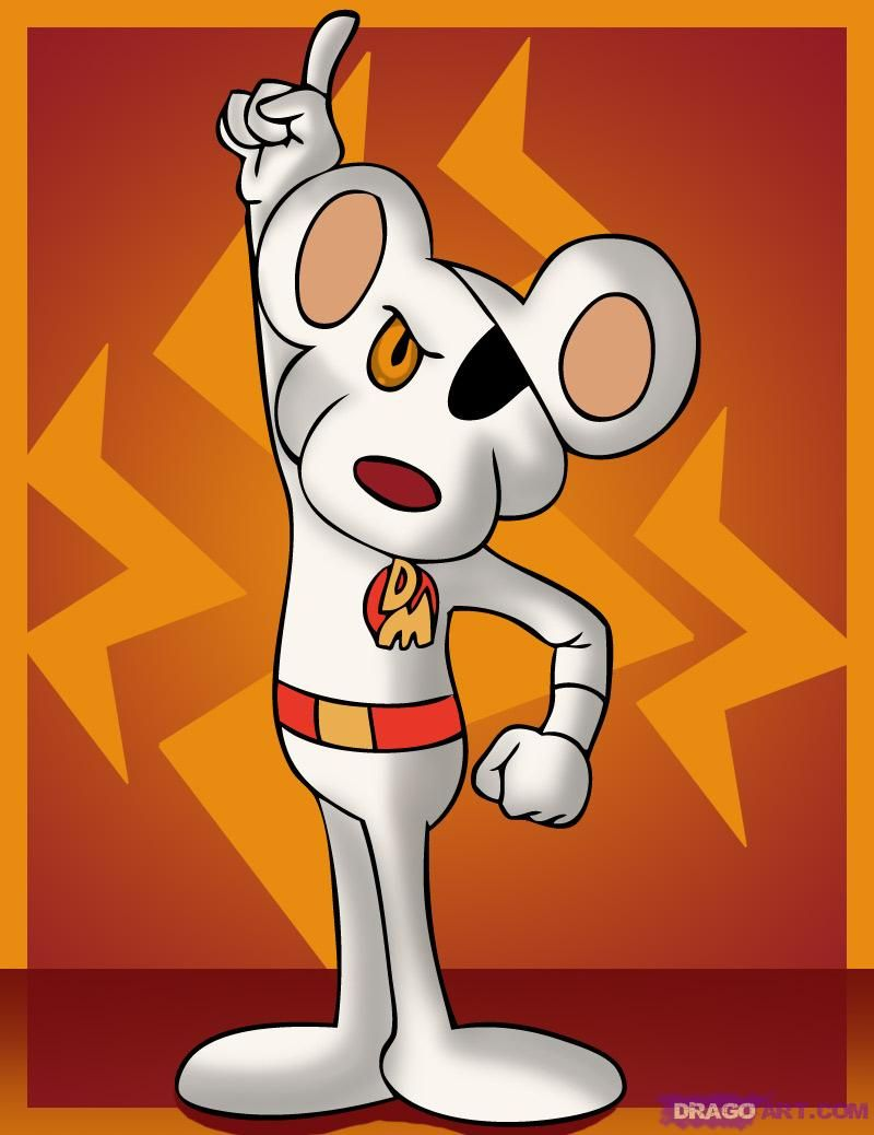 Characters dangermouse. How to draw danger