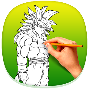 Drawing dbz pencil. How to draw