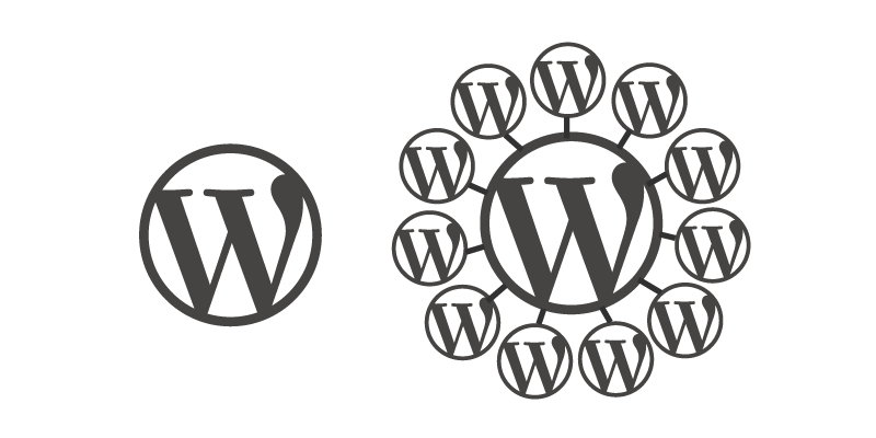 Drawing demystified. Wordpress multisite
