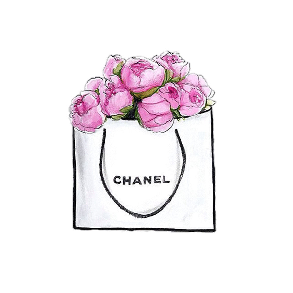 Chanel drawing girly. Freetoedit ftesticker shopping designer