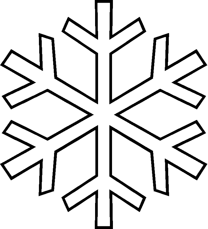 Drawing detail snowflake. Collection of free snowflakes