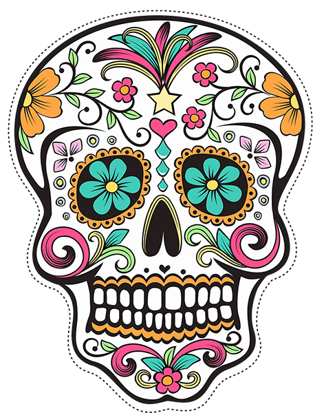 Drawing browser dia. How to draw mexican