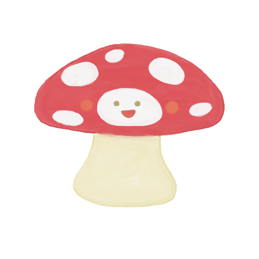 Drawing details mushroom. Happy icon png clipart