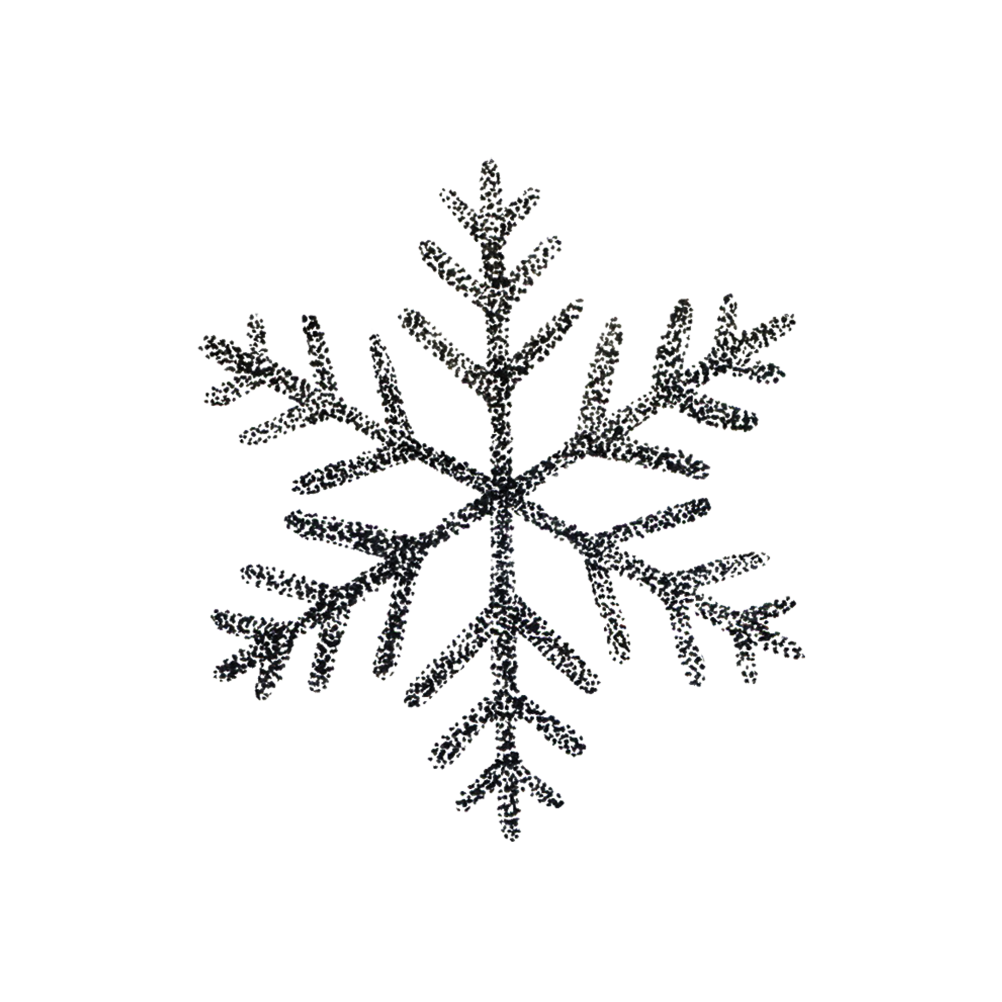 Drawing details snowflake. By tea leigh from