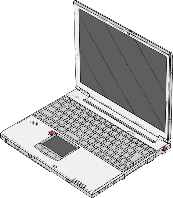 Drawing keyboard laptop. Download personal computer openoffice