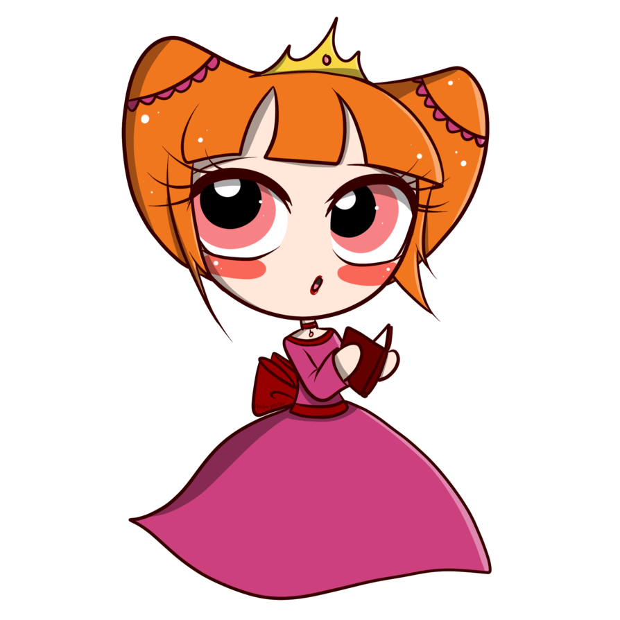 Drawing diary cute. Chibi blossom of princess