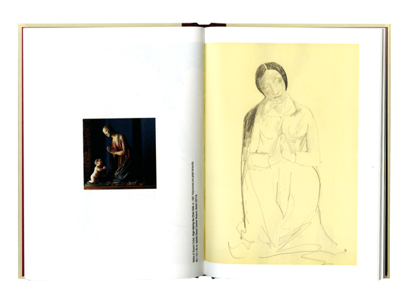 Drawing diary visual. Bharti kher sketchbooks and