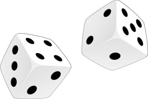 Drawing dice pencil. Download game graphic arts