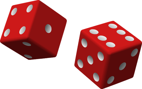 Drawing dice probability