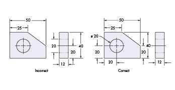 Manufacturing drawing eng. Common mistakes to