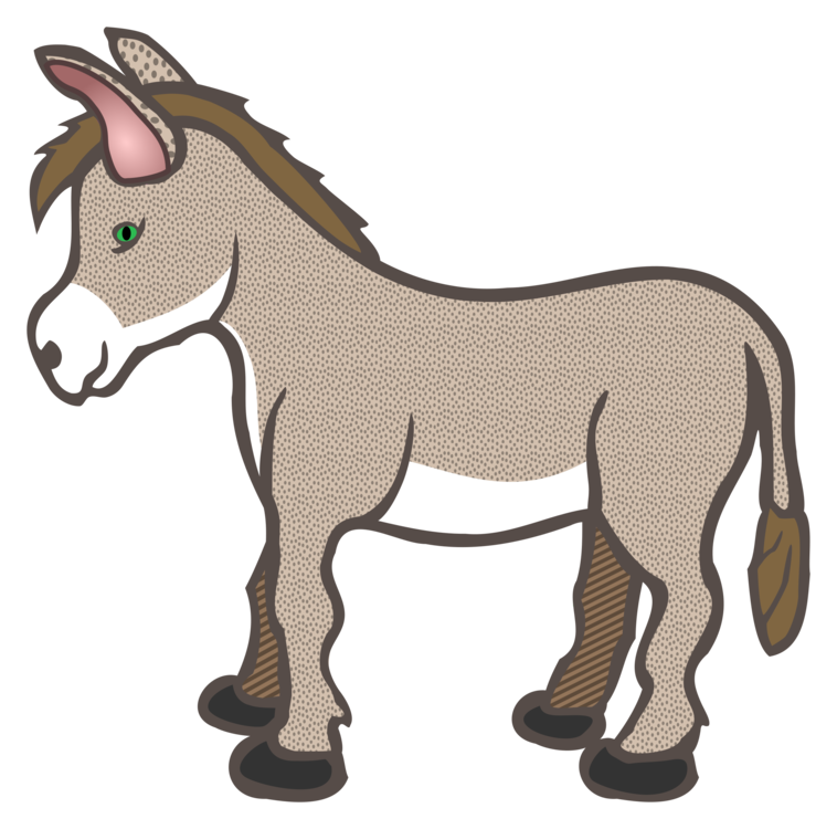 Drawing donkey clipart. Horse download nativity scene
