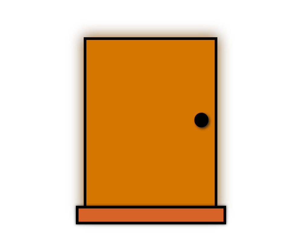 Drawing door animated. Open clipart at getdrawings