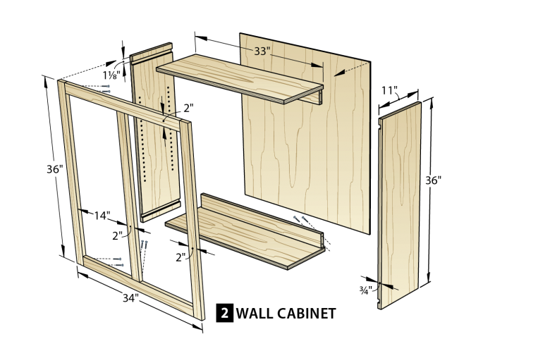 Vanity drawing woodwork shop. Make cabinets the easy