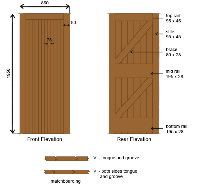 Drawing door wooden. Construction carpentry joinery constructional