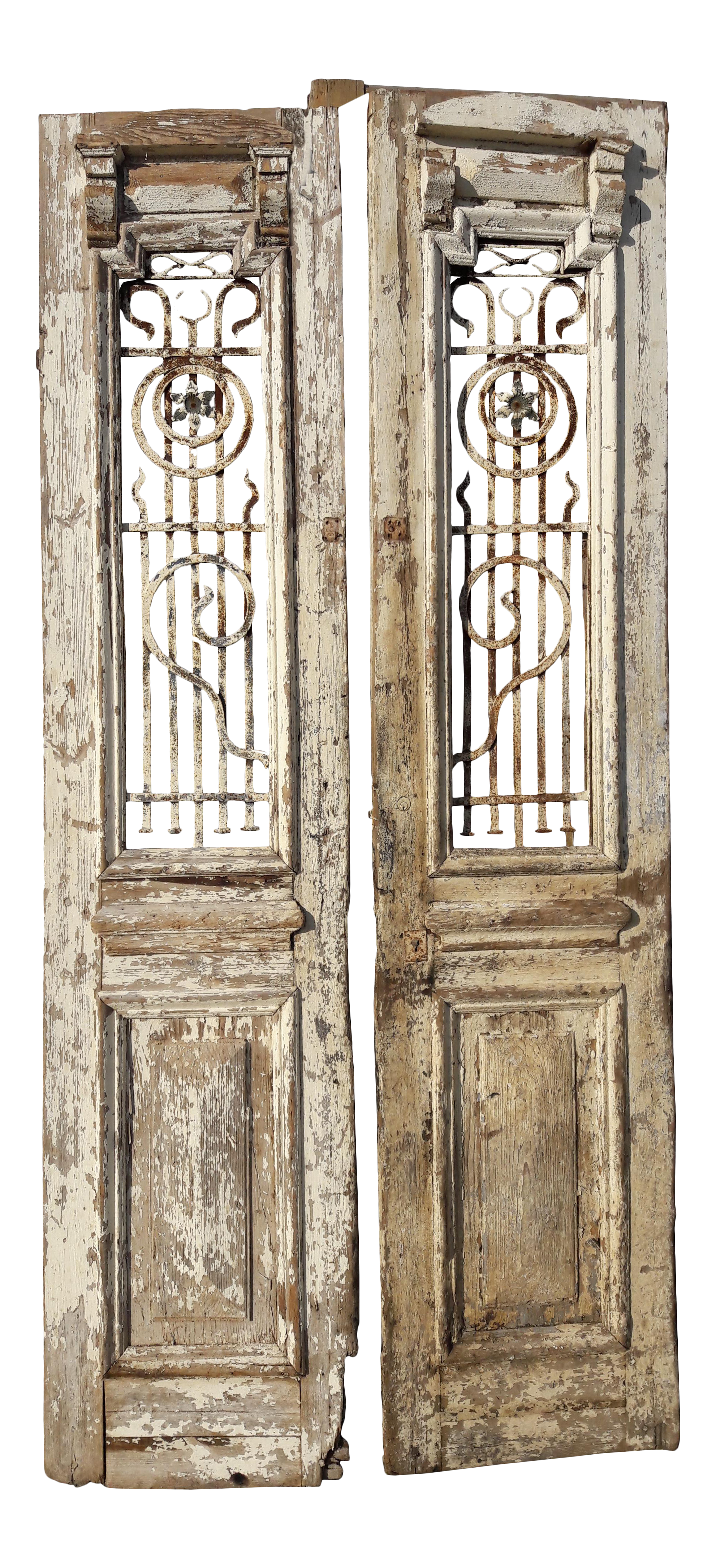 Drawing doors vintage door. Antique architectural and wrought