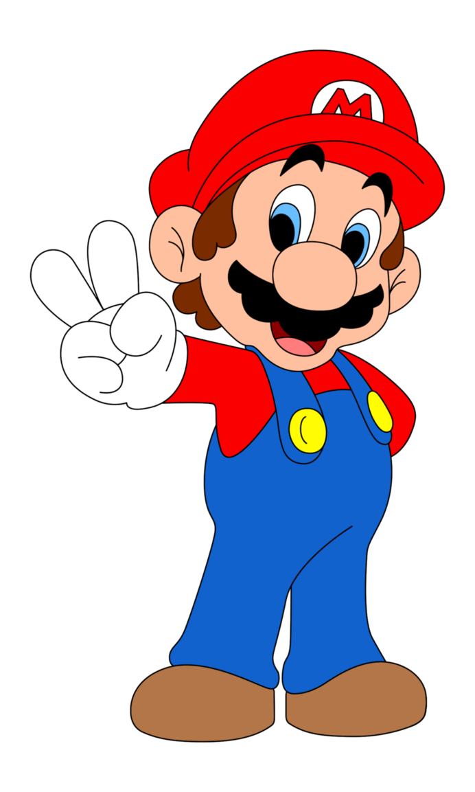 collection of characters. Mario clipart vector freeuse library