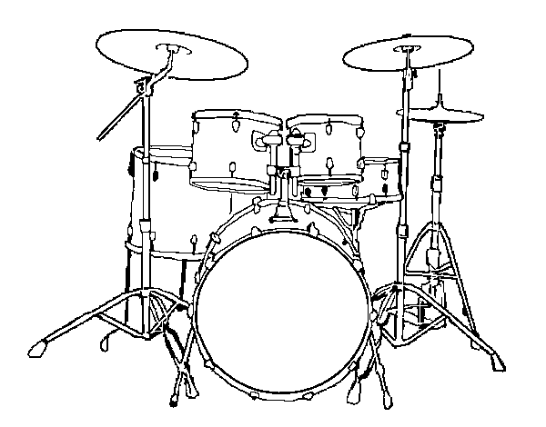 Pin by on pinterest. Ratatouille drawing drum picture black and white download