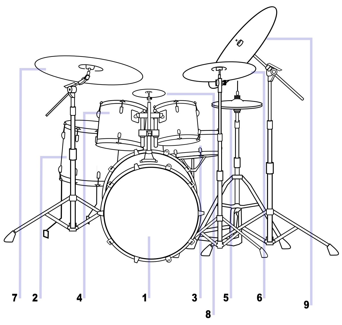 Snare drum wikipedia. Drawing drums easy svg library stock