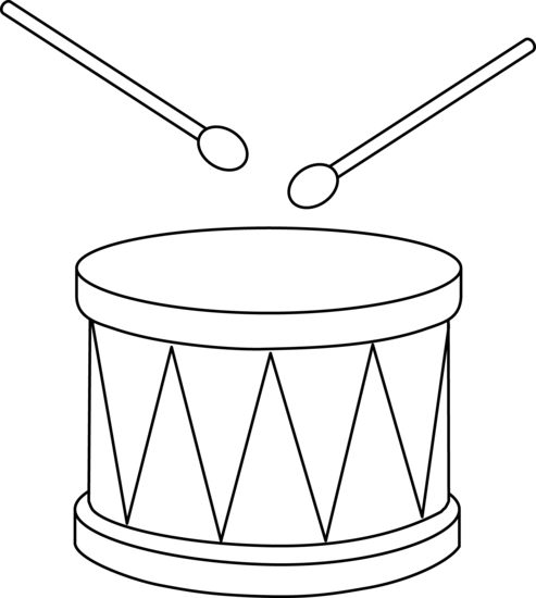 Drawing drums easy. Clipart drum pencil and