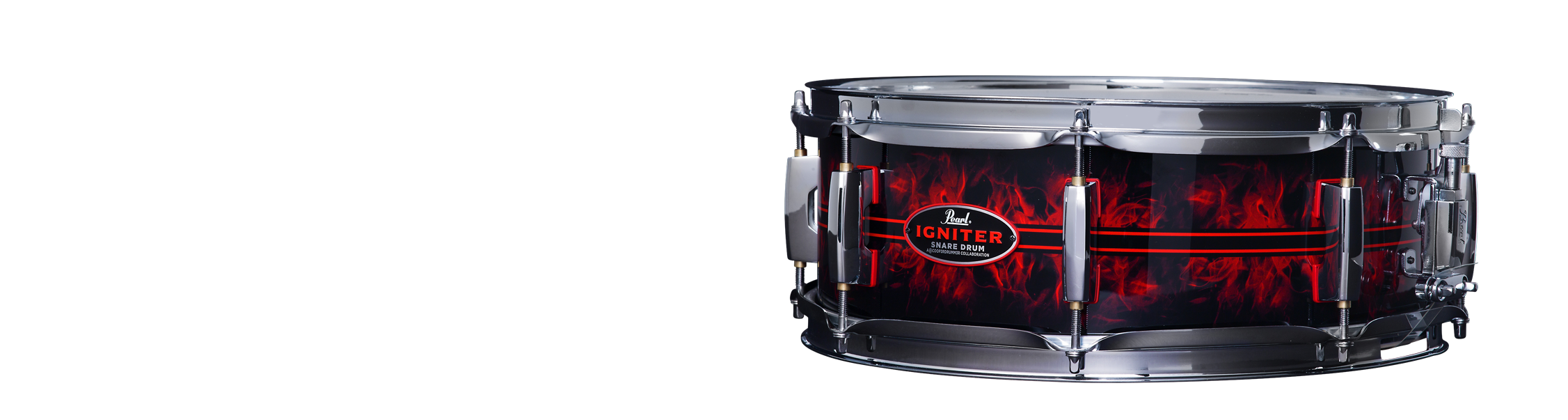 Drawing drums snare drum. The igniter