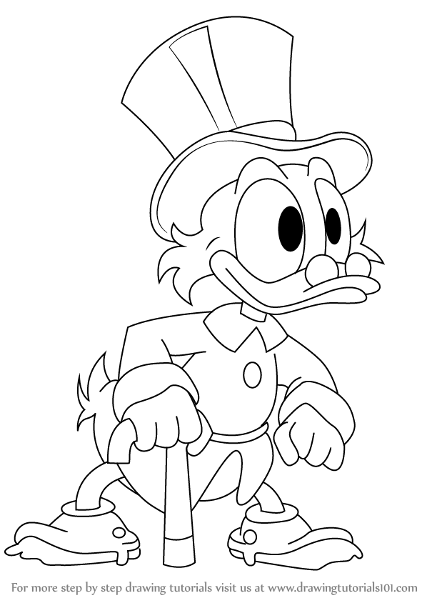 Drawing ducktales. Learn how to draw