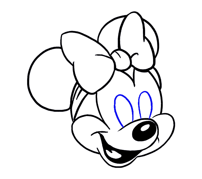 Drawing egg draw something. How to minnie mouse