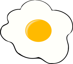 Drawing egg fried. Free clipart images clipartix