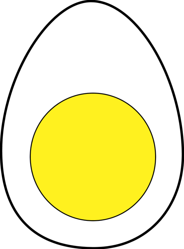 eggs vector boiled egg