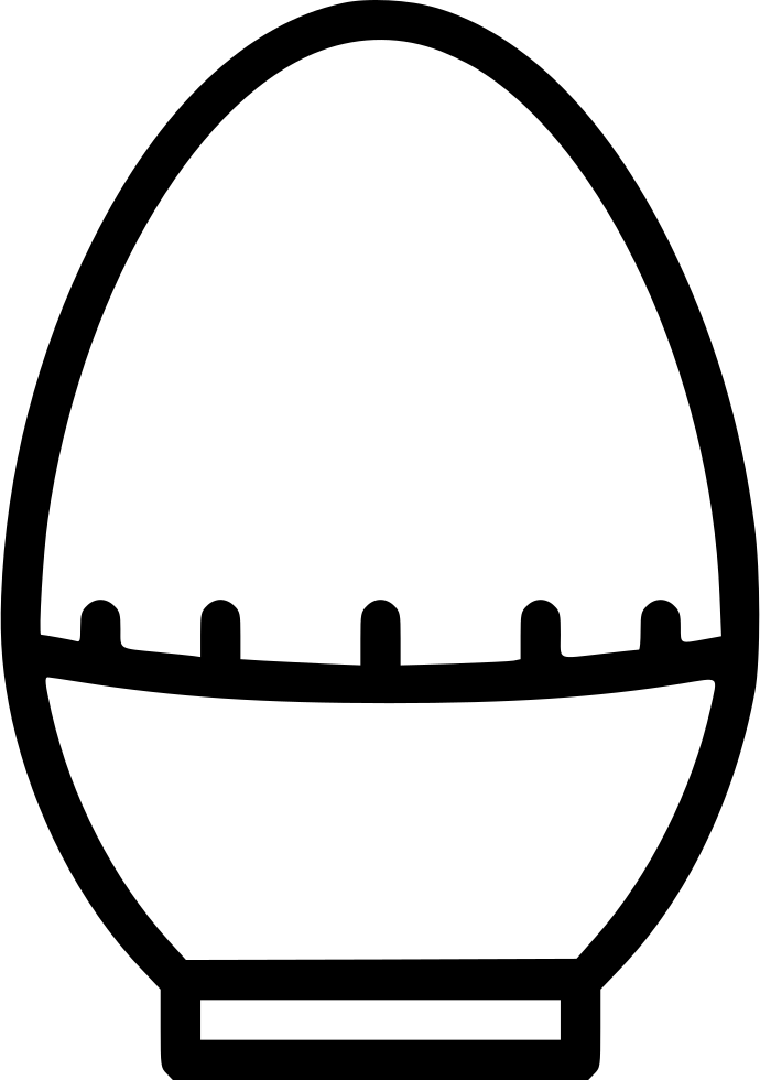 Timer drawing art work. Egg svg png icon
