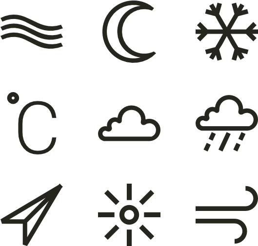 Drawing elements png. Download linear weather image
