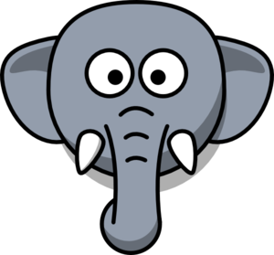 Clipart for kids at. Elephant clip art elephant head picture download