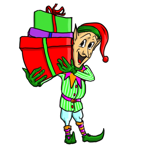 Drawing present stuff. How to draw christmas