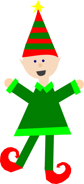 Elf clipart dancing. Collection of free elves