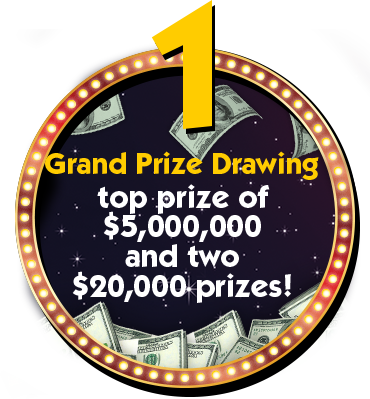 Drawing entry prize. Home monopoly jackpot ma