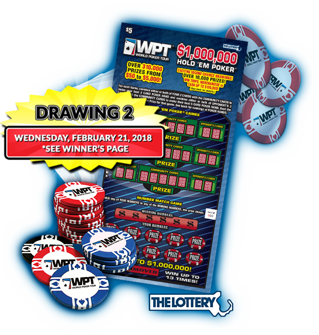 Drawing entry prize. Home ma lottery wpt