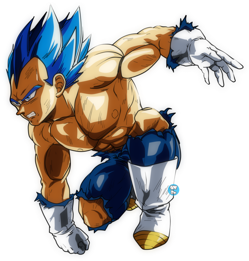 Drawing vegeta ssj. Download image transparent stock
