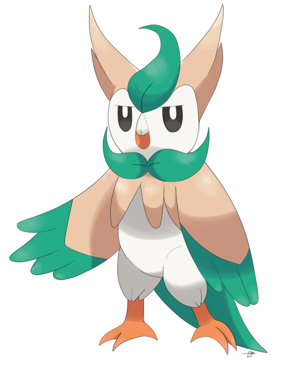 Drawing evolution artists. Rowlet by shinyhunterf on