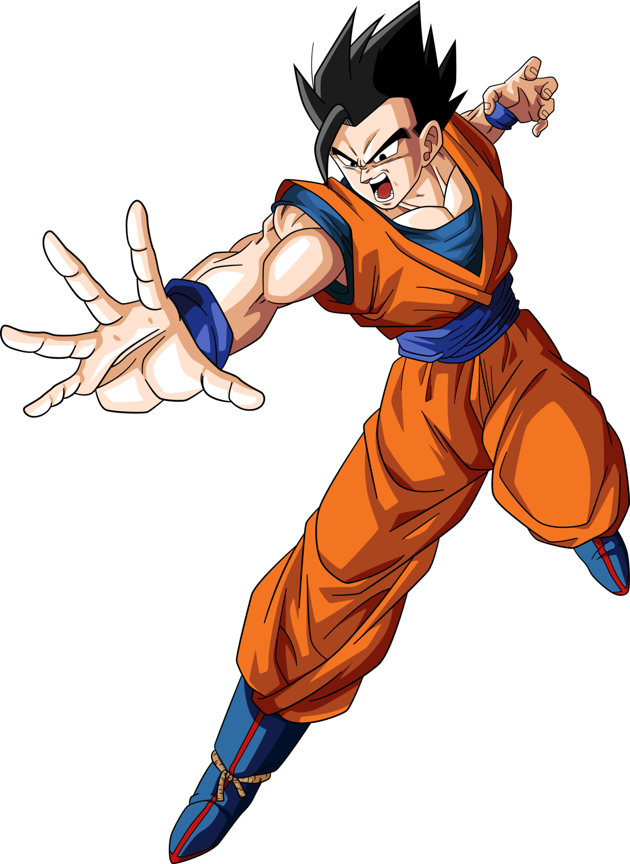 Drawing evolution gohan. Ultimate by rayzorblade pinterest