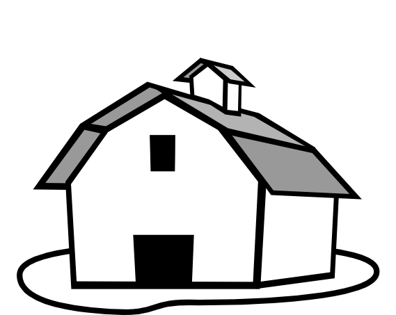 Drawing farmer farmhouse. Png freeuse library free