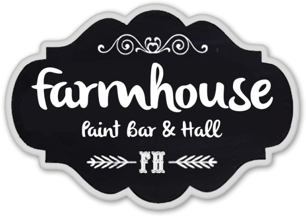 Drawing farmhouse painting. The paint bar cafe